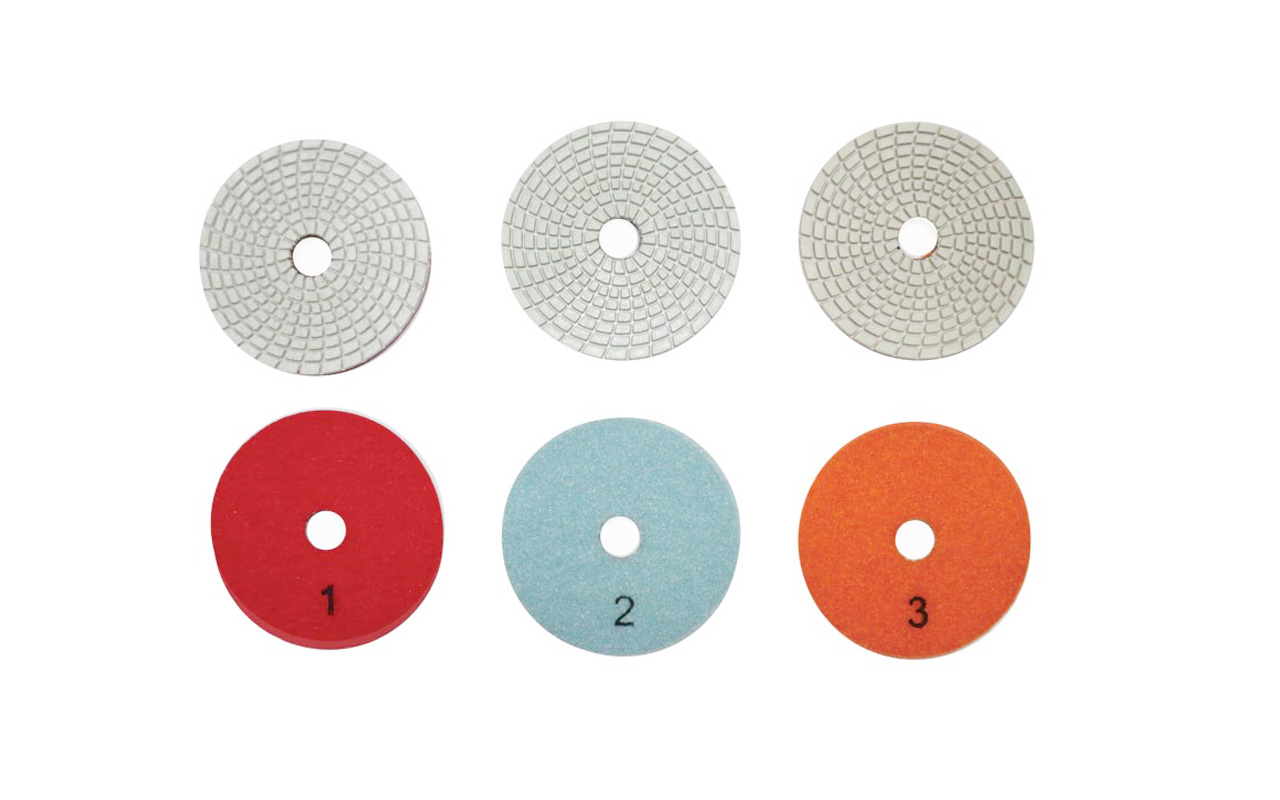 3-4 step polishing pads for stone&ceramic tile