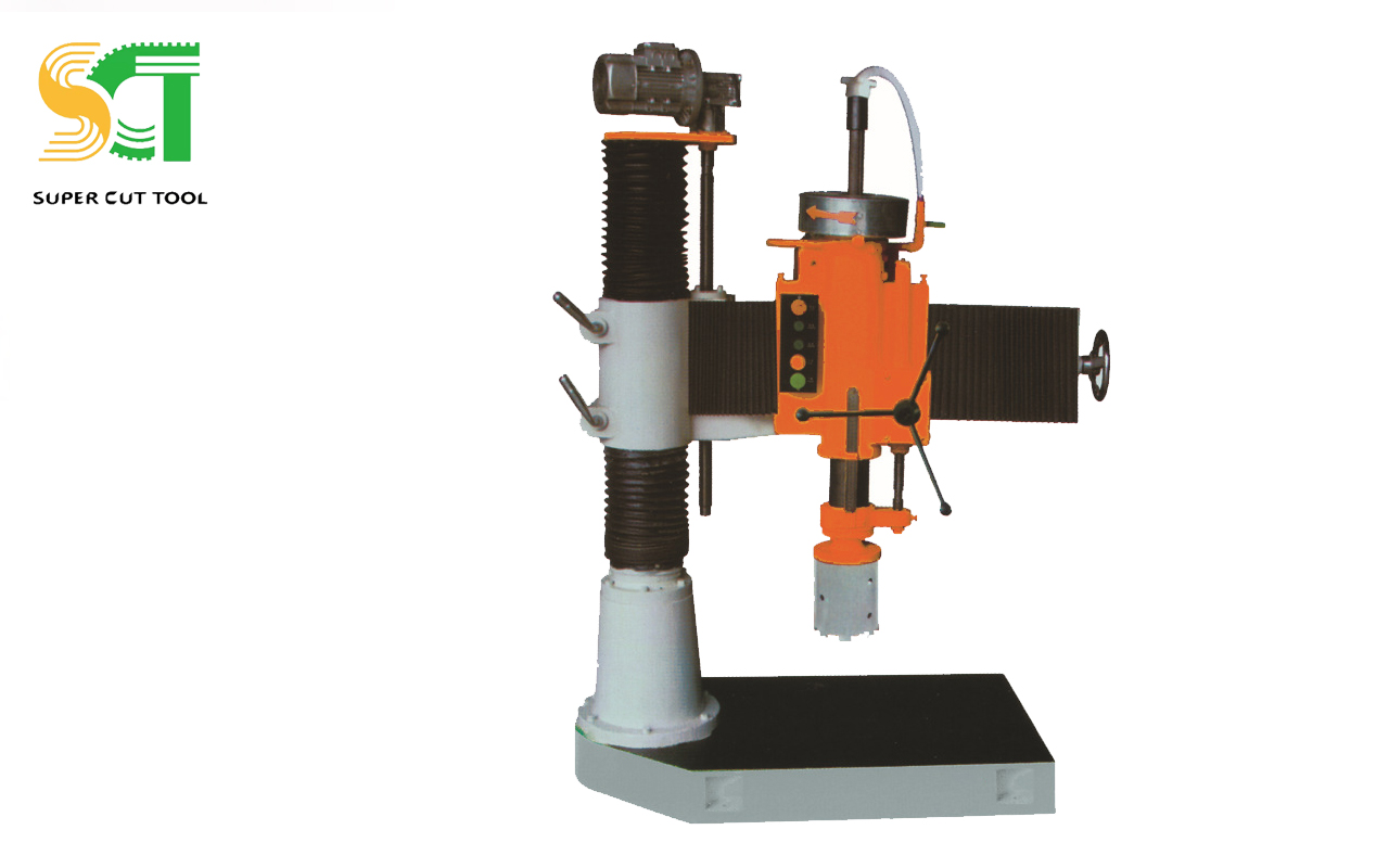 Drilling machine for stone