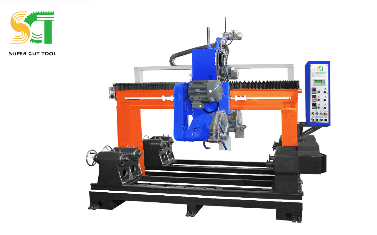 Automatic special shapes profiling cutting machine