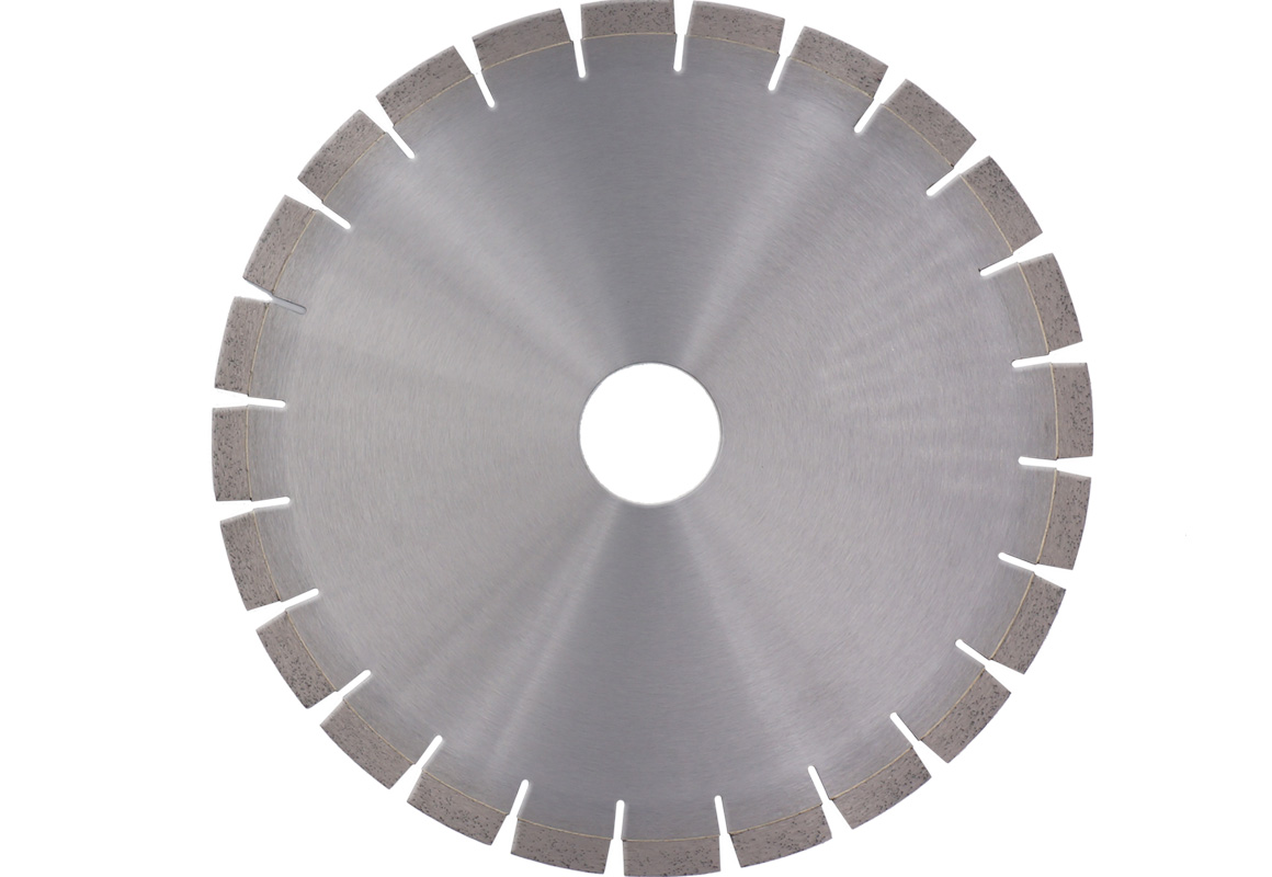Diamond saw blade for sandstone cutting