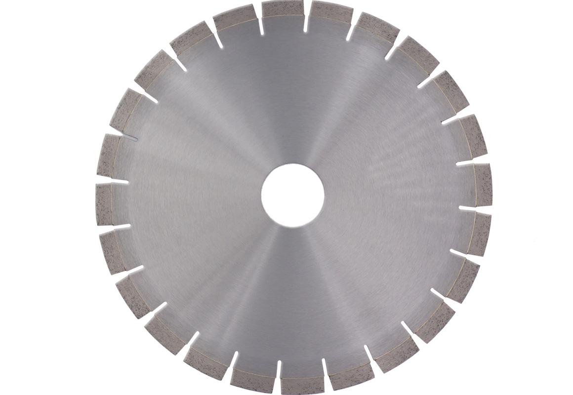 Diamond saw blade for sandstone cutting
