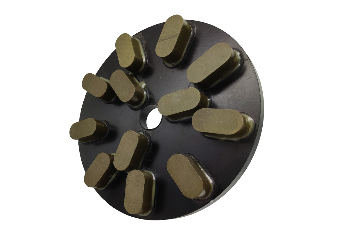 Round resin polishing wheel