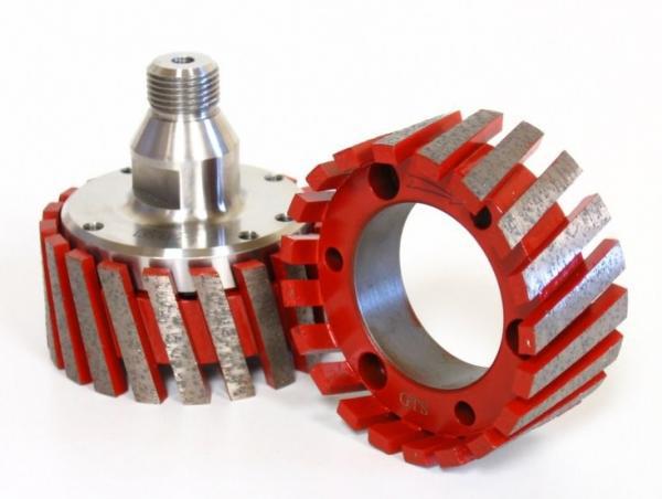Diamond CNC stubbing wheel