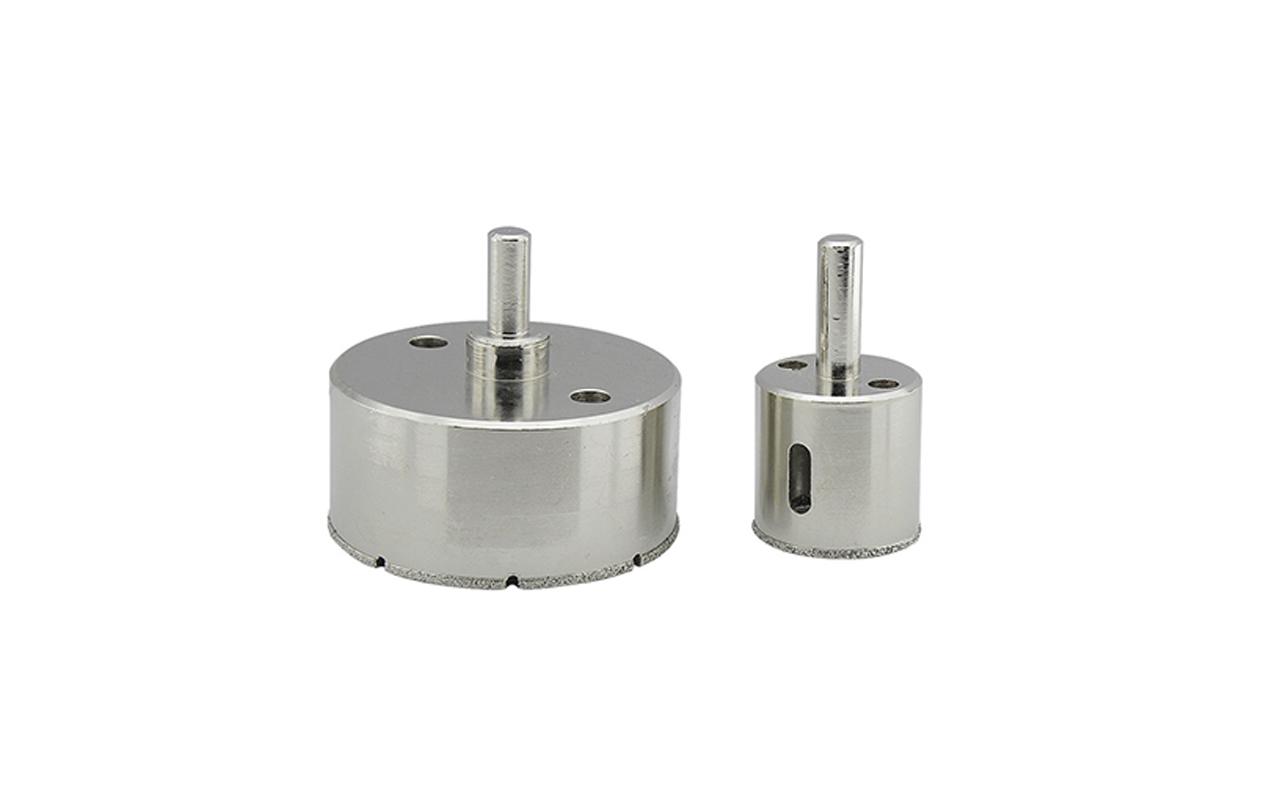 Electroplated diamond core bits