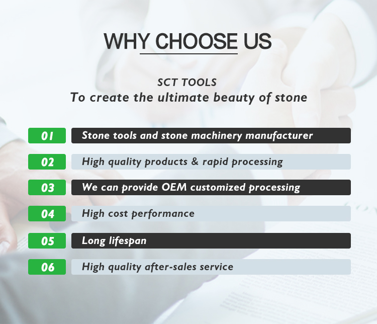 Why choose diamond segment from SCT TOOLS.