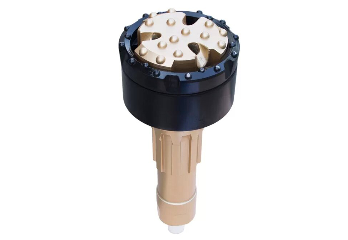 Overburden casing system&DTH hole opener Drill bit